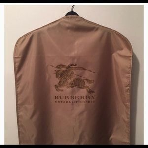 Burberry Garment Bag Perfect Condition